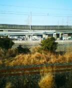 上越新幹線を見て震災を思う