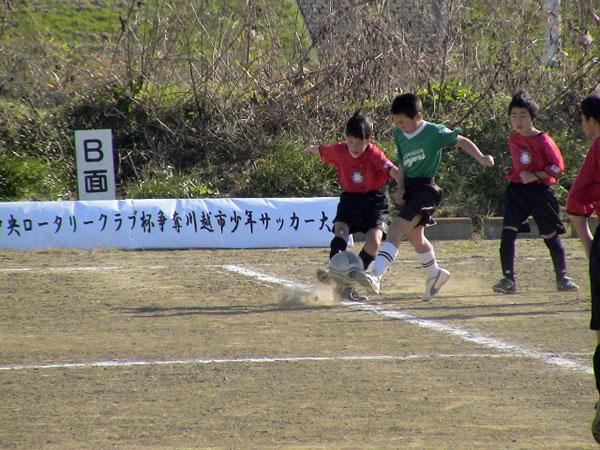 川越市サッカー少年団の大会