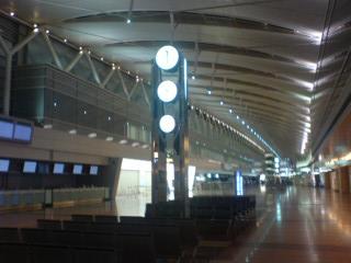 羽田空港内の「エクセルホテル東急」に宿泊