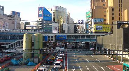 渋谷駅前、相変わらず工事中