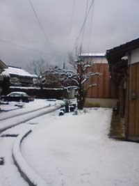 山陰地方、雷雪の元旦