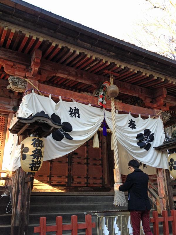 「とおりゃんせ」舞台、川越・三芳野神社へ初詣