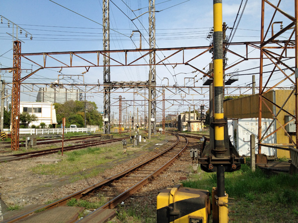 JR鶴見線浜川崎駅周辺