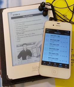 「NHKラジオ英会話」をKobo&iPhoneで勉強