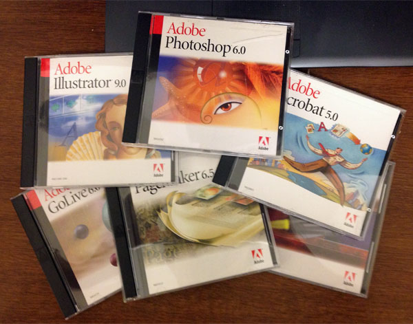 さようなら、Adobe Creative Suite 1