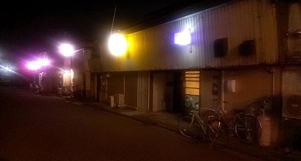 酒田のスナック街