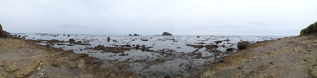 飛島・オバフトコロの浜