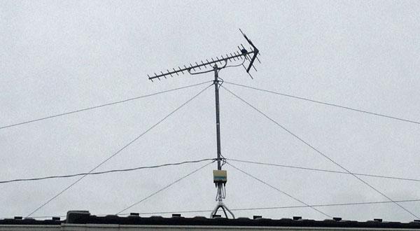 アンテナの支線