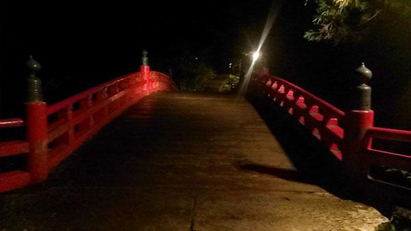 羽黒山・祓川神橋