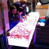 夜の川越祭りへ、進化する金魚すくいにびっくり
