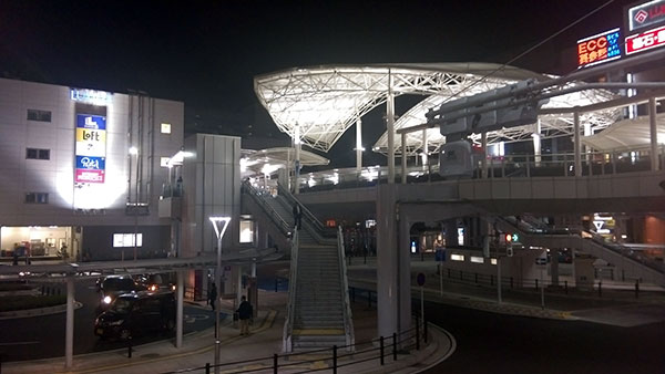 川越駅の西口がいつの間にか立体交差に