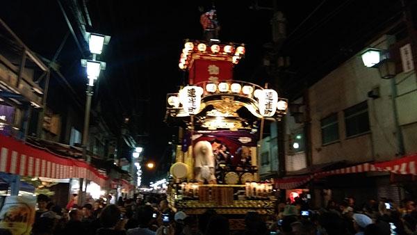 川越祭り2014年
