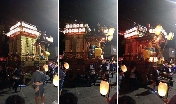 川越祭り・山車
