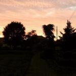 夕暮れ、百年前の風景が垣間見えた