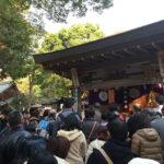河内一宮・枚岡神社の師走大祓式に参加