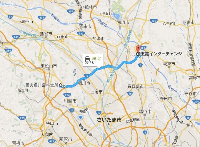 圏央道地図