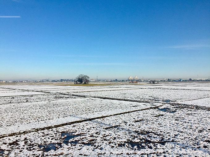 川越の積雪