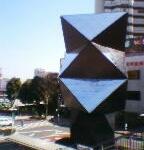 川越駅前のアート