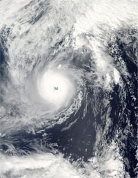 台風22号