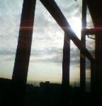 武蔵浦和駅から見た空