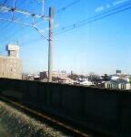 埼京線与野本町駅付近
