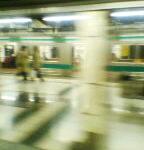埼京線新宿駅ホーム