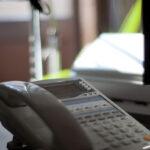 会社の電話