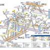渋谷駅構内図