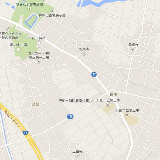 埼玉交差点地図