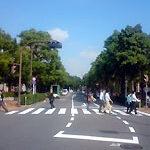 恵比寿・横断歩道