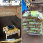 肥料と目土を購入