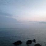 羽越本線沿いの日本海