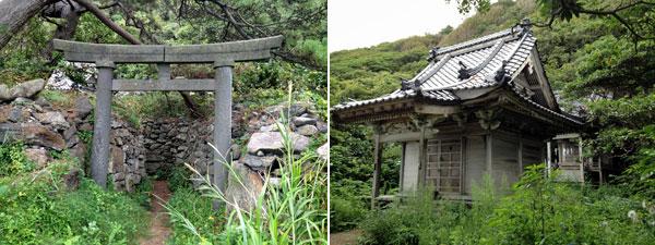 飛島・明神の社