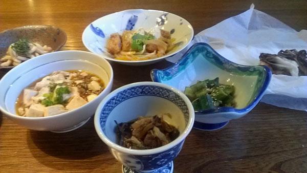 田麦荘の夕食