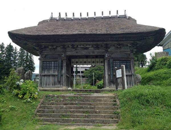 鶴岡・大日坊瀧水寺