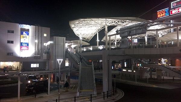 川越駅西口駅前広場