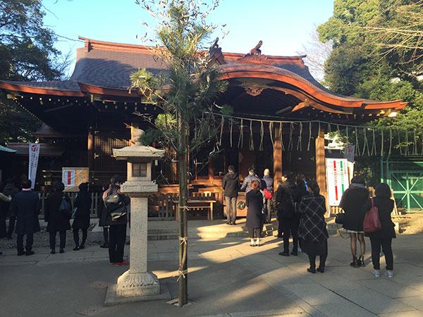渋谷氷川神社・初詣