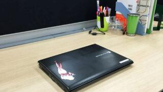 机の上の整理
