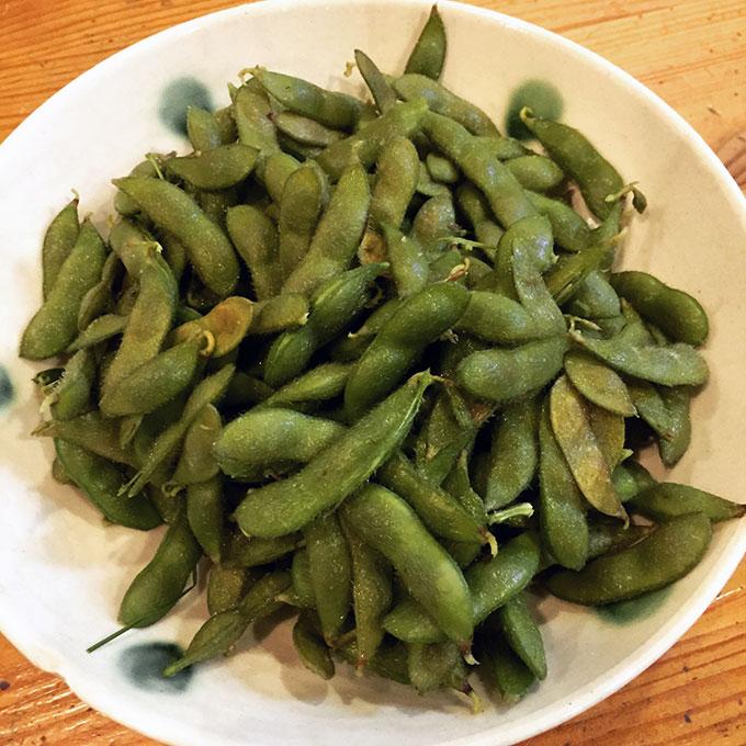 枝豆の調理