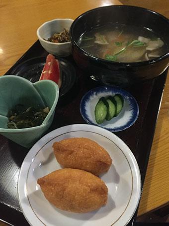 大沢温泉 夕食