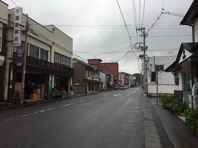 遠野市街地