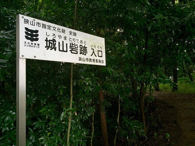 狭山・城山砦跡