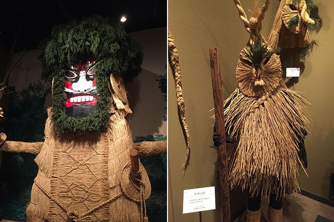 東北歴史博物館・藁の神々