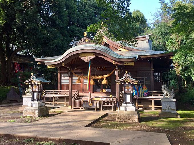 城山神社・滝の城跡(所沢)