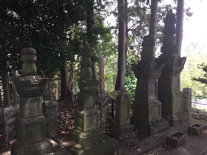 高済寺・加賀爪氏累代の墓(東松山)
