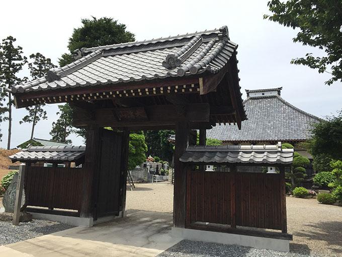 高坂館・高済寺(東松山)