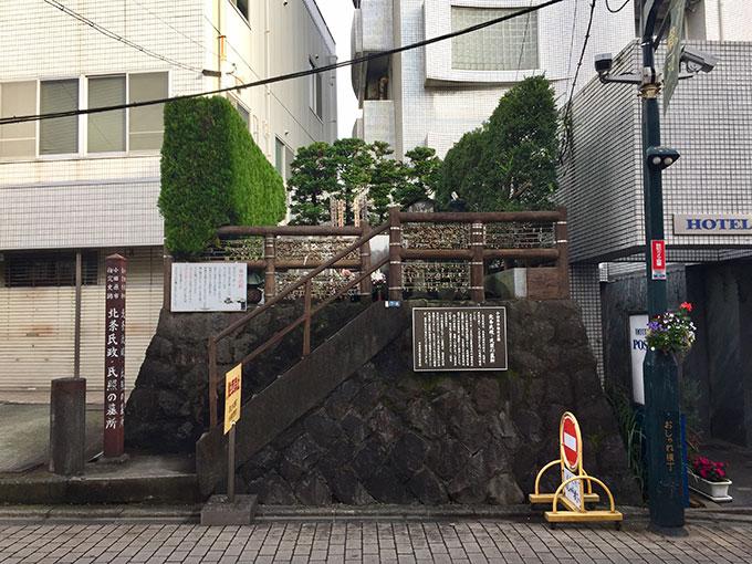 北条氏政・氏照の墓所(小田原)