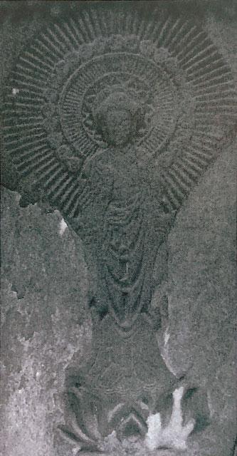 阿弥陀一尊図像板碑(ふじみ野)