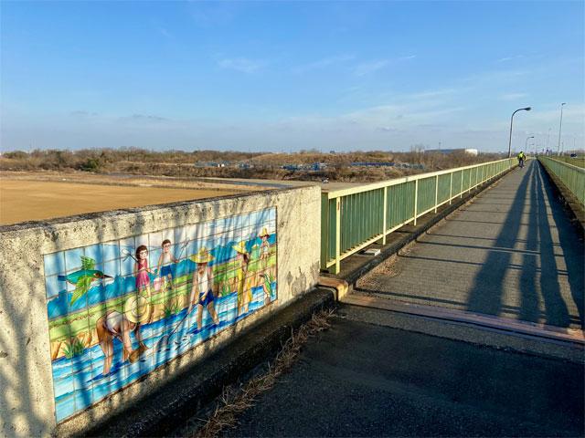 八瀬大橋の高欄