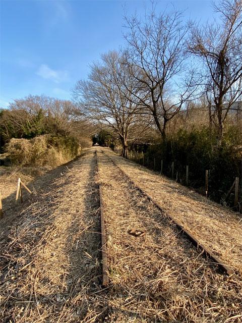 西武安比奈線廃線跡